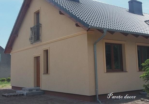 122 Meter Außenstuck Fassade Haus Außen Wand 122 Cm Flachleiste