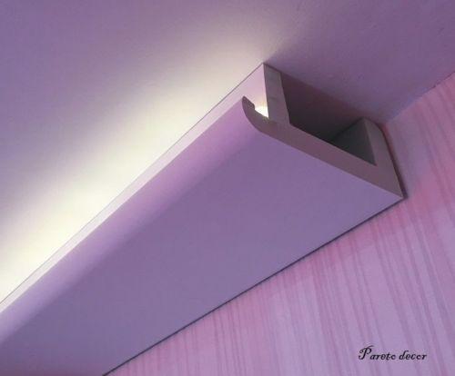 1 20 meter led lichtstrahl spots profil f r indirekte. Black Bedroom Furniture Sets. Home Design Ideas