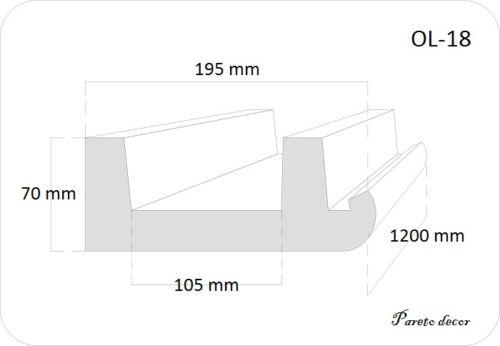 12 Meter LED LichtStrahl Spots Profil für indirekte